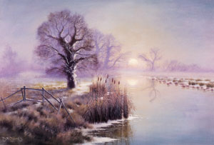 One of the many gorgeous prints of the Norfolk Broads by David F Dane available to buy from this website
